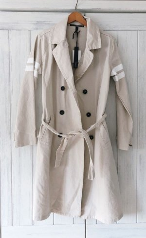 10 Days Trenchcoat beige clair coton