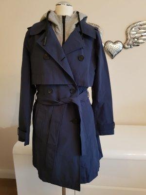 outlet store 0122f dcef3 Sportlicher Trenchcoat von Esprit in blau/grau
