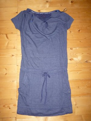 Sportliches Baumwollkleid in blau