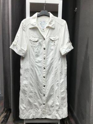 Sportliches Cecil Blusenkleid Weiß L (44)