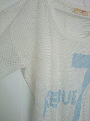 Sportliches Oversize Netz-Shirt