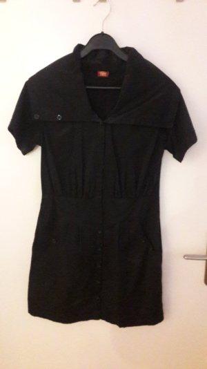 Sportliches, schwarzes Kleid von Buffalo, Größe 38