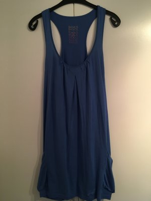 Vestito da spiaggia blu fiordaliso
