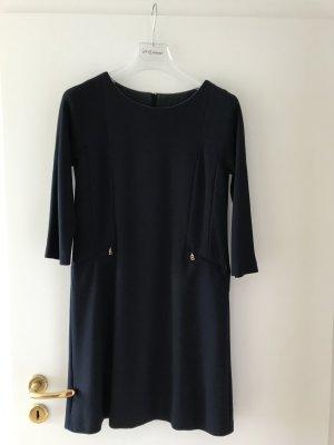 Bogner Sheath Dress dark blue spandex