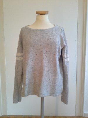 sportliches Sweatshirt / Pullover in grau