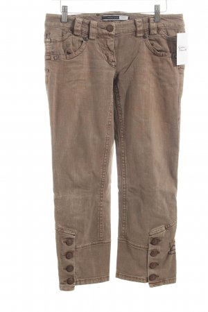 Sportmax 7/8-jeans lichtbruin casual uitstraling