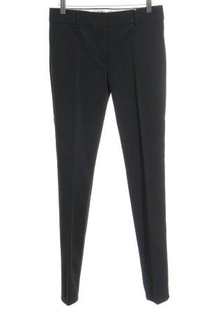 Sportmax Pantalone da abito nero stile professionale