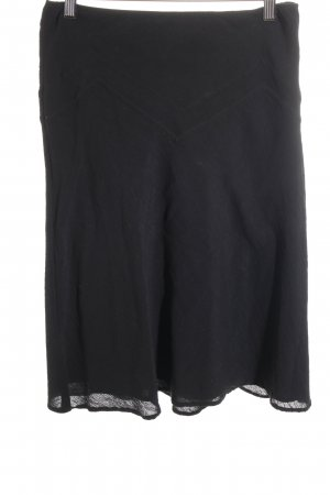 Sportmax Code High Waist Skirt black elegant