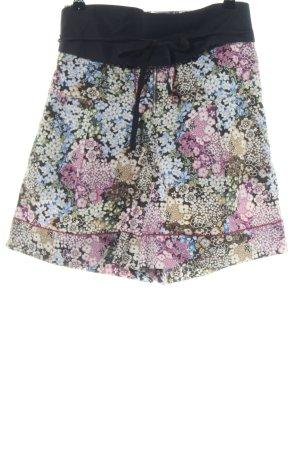 Sportmax Code High-Waist-Shorts allover print casual look