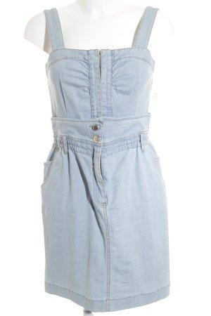 Sportmax Code Robe en jean bleu azur style décontracté