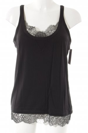 Sportmax Code Lace Top black casual look
