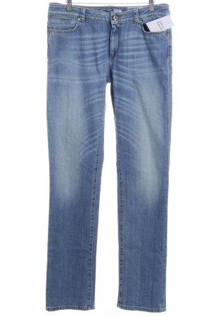Sportmax Code Straight-Leg Jeans blau Casual-Look