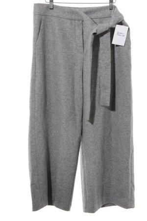 Sportmax Code Pantalon en laine gris moucheté élégant
