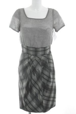 Sportmax Vestido ceñido de tubo estampado a cuadros estilo clásico