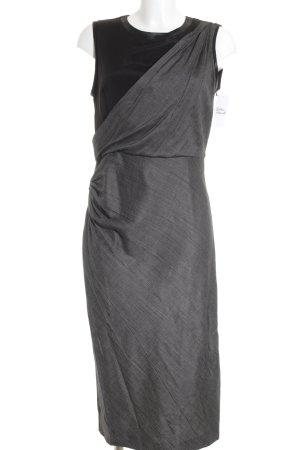 Sportmax Etuikleid schwarz-grau Elegant