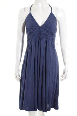 Sportmax Kleid blau Beach-Look