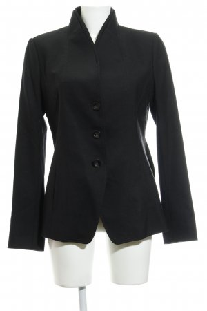 Sportmax Kurz-Blazer schwarz Business-Look