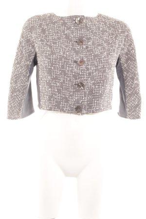 Sportmax Kurzjacke weiß-grau Elegant