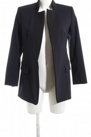 Sportmax Long-Blazer blau Business-Look