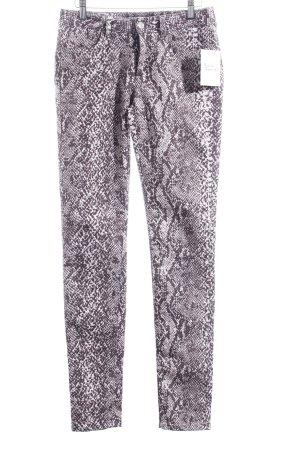 Sportmax Skinny Jeans Animalmuster extravaganter Stil