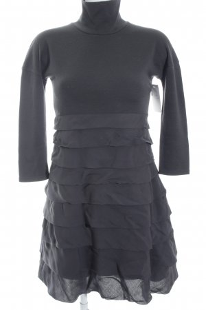 Sportmax Wollkleid anthrazit Casual-Look
