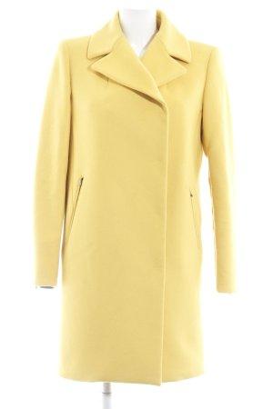 Sportmax Cappotto in lana giallo stile casual