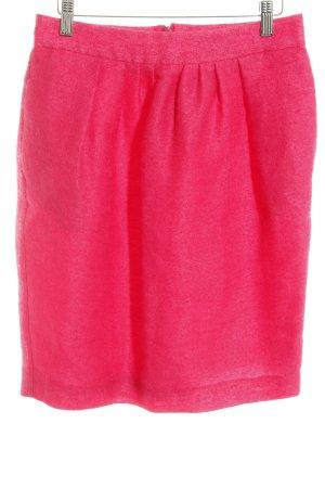 Sportmax Wool Skirt magenta weave pattern casual look