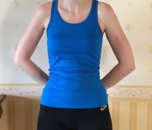 Sportoberteil, kobaltblau