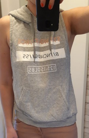 H&M Sport Camisa deportiva gris claro