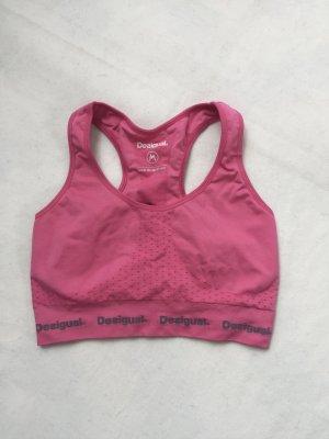 Sports Bra pink von Desigual Sport