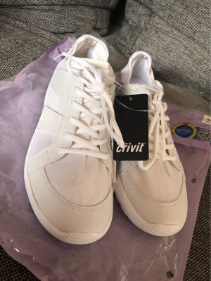 Crivit Lace-Up Sneaker white