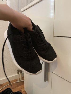 Zapatillas blanco-negro
