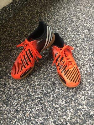 Adidas Zapatos brogue naranja neón-negro