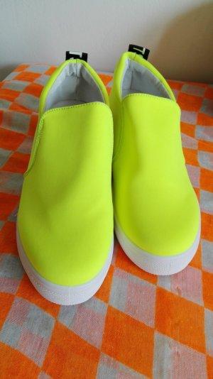 Sportschuhe neu neon gelb