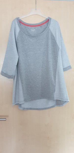 Sportshirt lichtgrijs-grijs