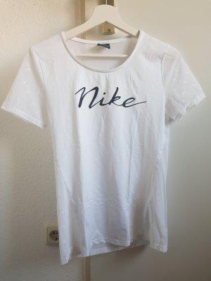 Nike Camisa deportiva blanco-negro
