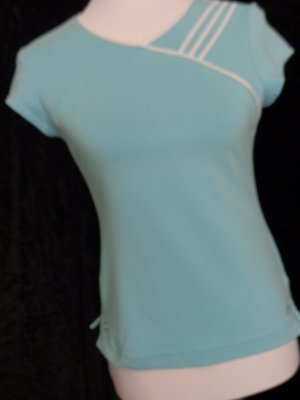 Sportshirt Adidas, Gr. 38, türkis
