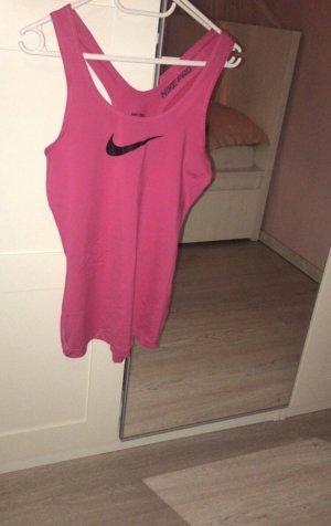 Nike Sporttop roze-zwart