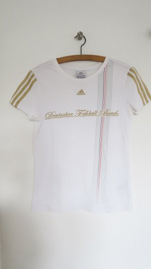 Adidas Sports Shirt white-gold-colored