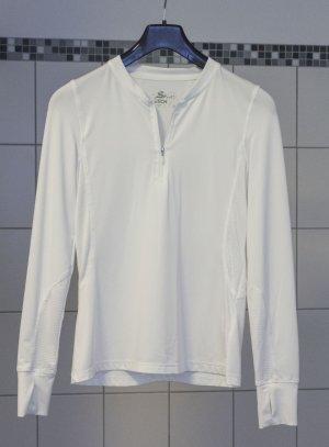 Sportshirt, Funktionsshirt, Damen, weiß, Gr. 36/38, Tchibo TCM