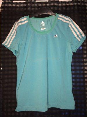 Sportshirt in blau von Adidas