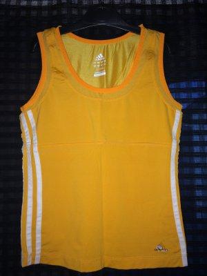 Sportshirt in gelb von Adidas