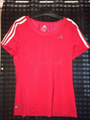 Sportshirt in rot von Adidas