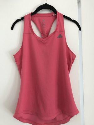 Adidas Sporttop roze-framboosrood