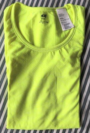 Sportshirt neongelb