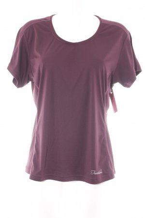 Sports Shirt purple athletic style