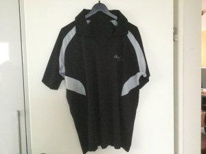 T-shirt de sport noir-gris clair