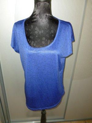 Sportshirt T-Shirt blau crivit