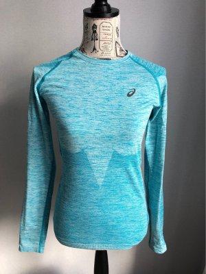 Asics T-shirt de sport turquoise