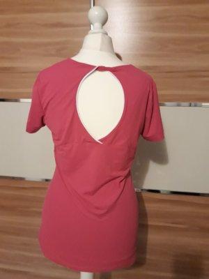Esprit Sports T-shirt de sport rouge framboise